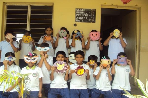 Mask Making Competition.